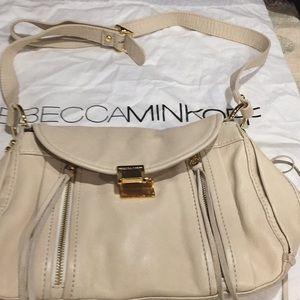 Rebecca minkoff cream colored bag